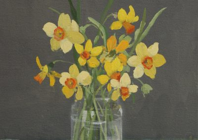 Daffodils 25cm x 30cm £350