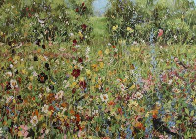 Garden Meadow 100cm sq £3000