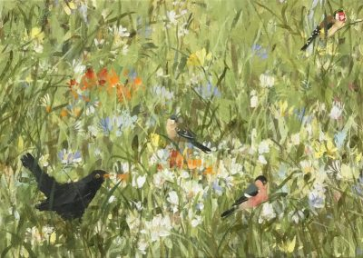 Meadow Flowers 75cm x 30cm £685