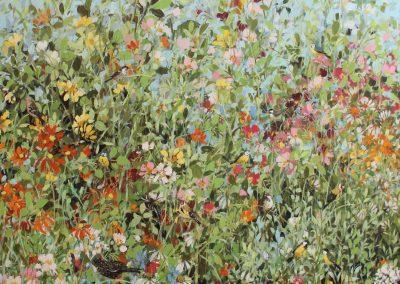 Summer Border 120cm x 100 cm £3300