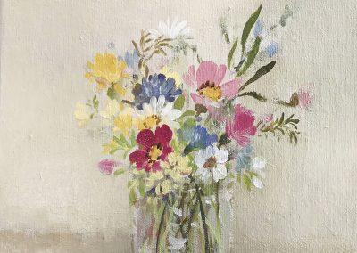 Last of the Garden Flower 25cm sq £385