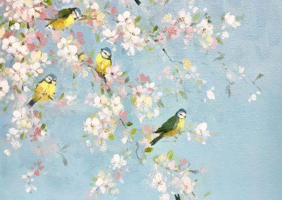 Spring Song Birds.40cm £600jpg