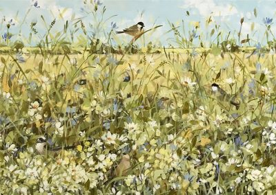Summer Wheat Fields 100cm x 40cm £900